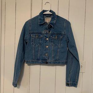 NWT ASOS Denim Crop Jacket